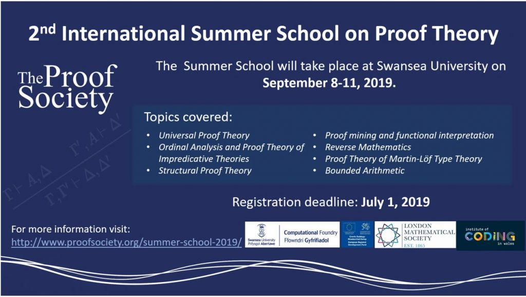 summer school on proof theory