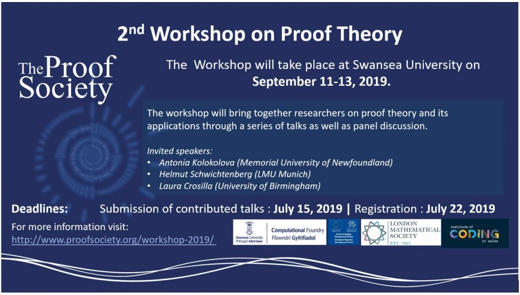 workshop on proof theory